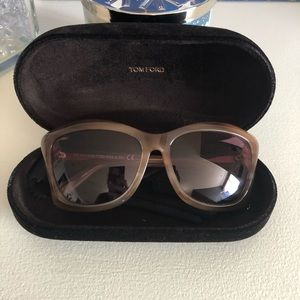 Tom Ford Lana sunglasses - case included - beige